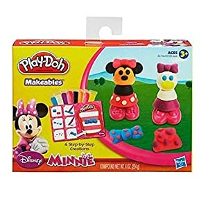 Play Doh Disney Makeables Set Featuring Minnie Mouse
