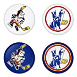 "Kansas City Scouts NHL Round Badge 1.75"" Pinback at Amazon.com"