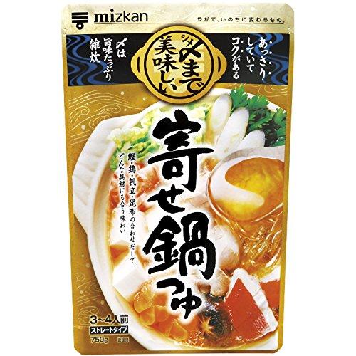 ミツカン 〆まで美味しい 寄せ鍋つゆ 750g×12個