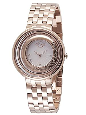GV2 by Gevril Women's 'Vittorio' Swiss Quartz Stainless Steel Casual Watch (Model: 1601)