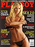 Playboy Magazine (Contents Image) September 2007 Christa Campbell, Clive Owen, Jaime Pressly, Rubber, Muscle Cars (Volume 54 Number 9)