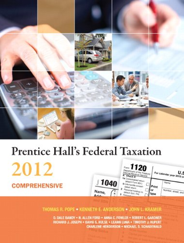 Prentice Hall's Federal Taxation 2012 Comprehensive (25th...