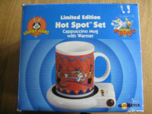Looney Tunes Cappuccino Hot Spot Set Limited Edition 2000 (Salton Cappuccino compare prices)