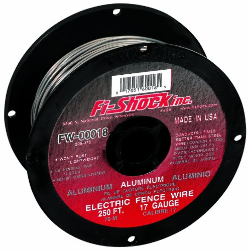 Best Buy! Fi-Shock FW-00018D 250-Feet 17 Gauge Spool Aluminum Wire