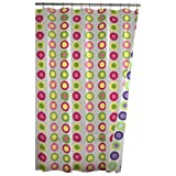 Maytex Pop Dots Reversible PEVA Shower Curtain