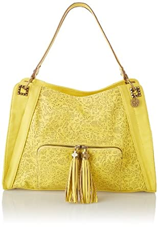 Jessica Simpson Miranda Top Handle Bag,Warm Gold,One Size