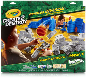 Crayola Create2Destroy Fortress Invasion Ultimate Destruction