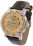 Handcuffs Analogue Golden Men's Watch - (Oneloong Gld1)