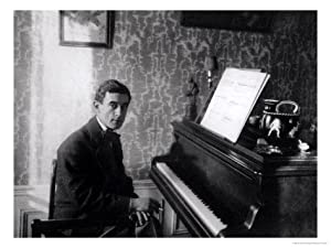 Maurice Ravel Giclee Print Art (12 x 9 in)