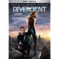 Divergent on DVD + Digital Copy