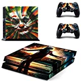 Playstation 4 Skin Set - Crazy man - HD Printing Vinyl Skin Cover Protective for PS4 Console and 2 PS4 Controller by Calantha & Partner