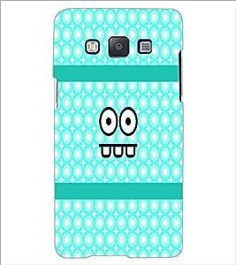 PrintDhaba Cartoon D-4888 Back Case Cover for SAMSUNG GALAXY E5 (Multi-Coloured)