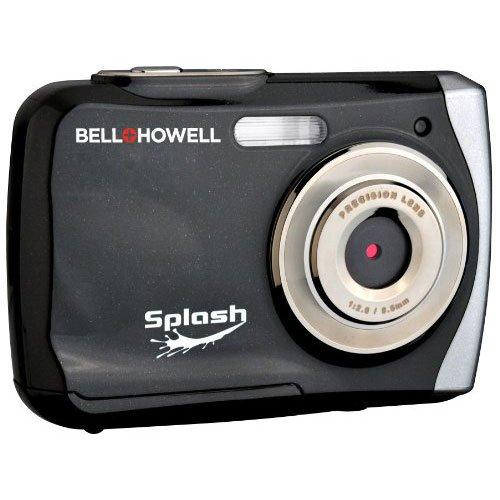 Bell+Howell Splash WP7 12 MP Waterproof Digital Camera Black