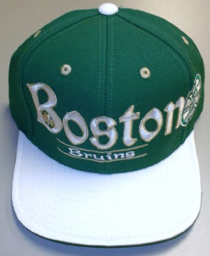 Reebok Boston Bruins St. Patrick's Day Snapback Hat at Amazon.com