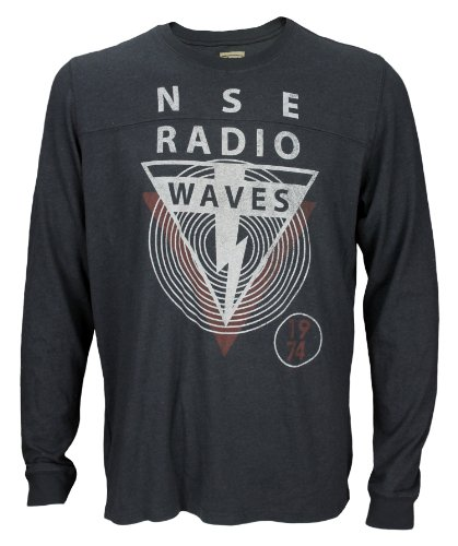 Authentic Big Star Nse Radio Waves Mens Long Sleeve Graphic Tee Size X-Large