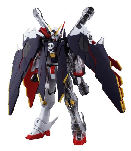 Gundam XM-X1 Crossbone Gundam Full clothes with Extra Clear Body parts MG 1/100 Scale