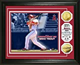 Mike Trout 2014 AL MVP Gold Coin Photo Mint - Los Angeles Angels