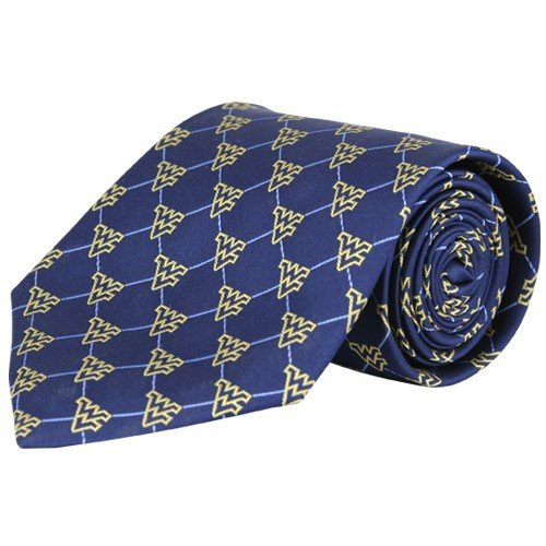 West Virginia Mountaineers Silk Pattern 1 Tie