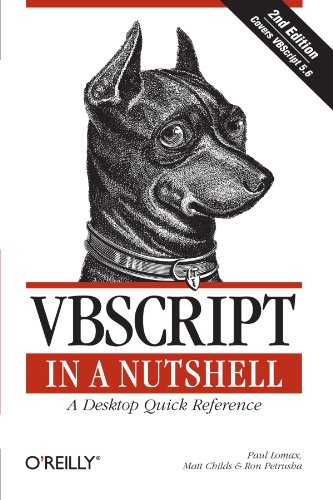 VBScript in a Nutshell, 2nd Edition 0596004885 pdf