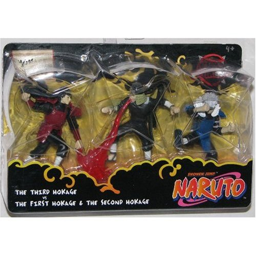 Hokage Battle Action Figure Multi-Pack