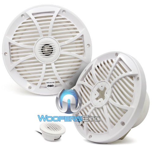 "Wet Sounds Sw Series 8"" White Convertible Marine Coaxial Speaker - 250 Watts Max / 125 Watts Rms"