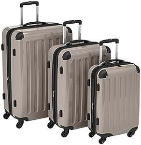 HAUPTSTADTKOFFER  Sets de bagages, 75 cm, 235 L, Or