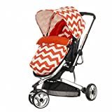 Obaby Chase 3 Wheeler ZigZag Stroller (Orange)