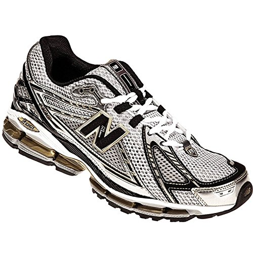 New Balance Men's MR1906 NBX Running Shoe,White/Black/Gold,8.5 D US (Custom New Balance Shoes compare prices)