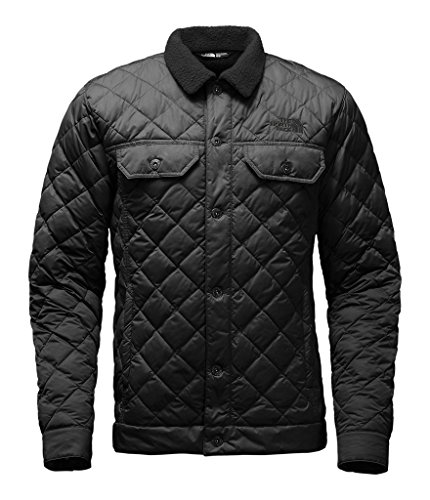 The North Face mens SHERPA THERMOBALL JACKET NF0A2TCAJK3_L - TNF BLACK (Pie Coats For Men compare prices)