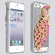 Bling 3D Peacock Cover for iPhone 5 5S