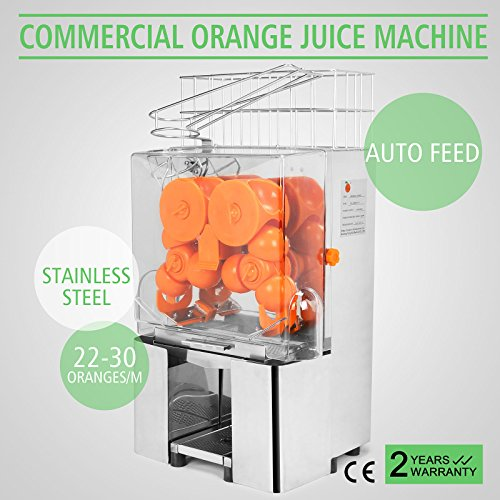 OrangeA Orange Juicer Orange Squeezer Machine Citrus Juicer Electric Cuisinart Juice Extractor Commercial Stainless Steel (Electric Commercial Juicer compare prices)