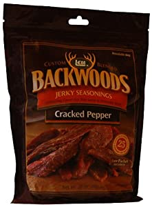 Backwoods Cracked Pepper Seasoning with Cure Packet by LEM