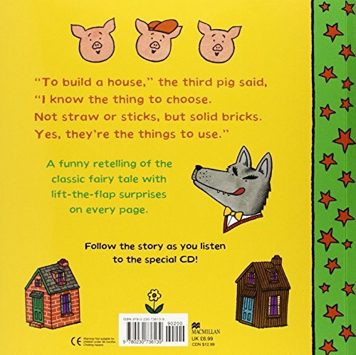 Lift-the-flap Fairy Tales: The Three Little Pigs (Lift the Flap Fairy Tale Bk/CD)