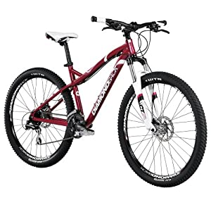 Diamondback Bicycles 2014 Lux Women's Mountain Bike , 17-Inch, Red