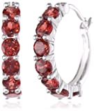 Sterling Silver Genuine Garnet Picture