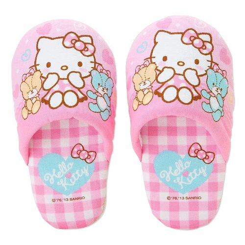 [Hello Kitty]Slippers heart pink 14