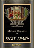 Cover art for  Becky Sharp
