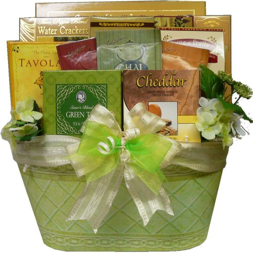 Art of Appreciation Gift Baskets Thinking of You Tea and Gourmet Food Gift Basket (Chocolate And Tea Gift Basket compare prices)