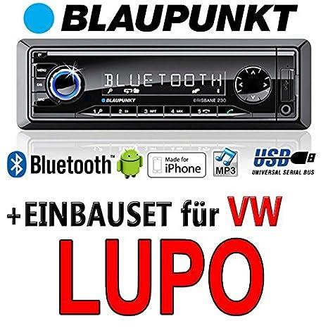 BLAUPUNKT brisbane volkswagen lupo - 230/mP3/uSB avec kit de montage autoradio avec bluetooth