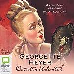 Detection Unlimited: Inspector Hemingway series, Book 4 | Georgette Heyer