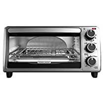 4-Slice Toaster Oven, Silver