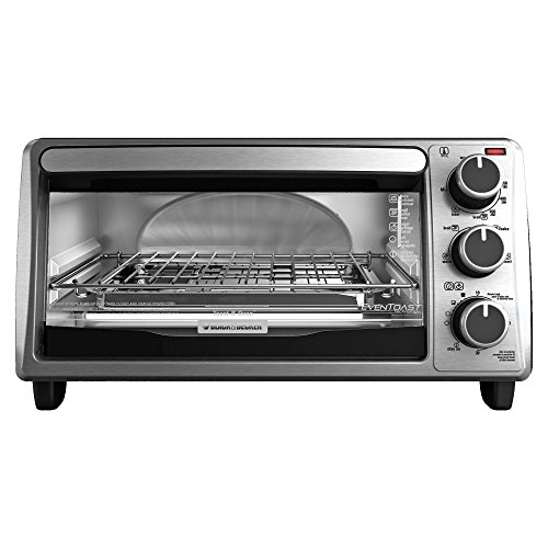 Find Cheap Black & Decker TO1303SB 4-Slice Toaster Oven, Silver