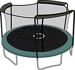 Trampoline Net For Bounce Pro / Sports Power 15ft Round Frames Fits 3 Arches