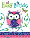 Creative Converting Owl Pal Party Inv…