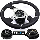 NRG ST-008R STEERING WHEEL + HUB + QUICK RELEASE – 94-07 HONDA ACCORD