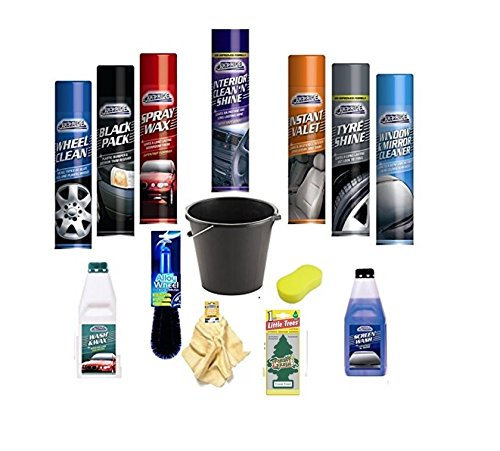 complete-car-wash-cleaning-kit-interior-exterior-wash-wax-polish-tyre-sponge