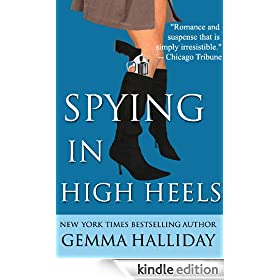 Spying in High Heels (a humorous romantic fashion mystery): Maddie Springer Series, Book 1 (High Heels Mysteries)