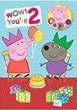 Peppa Pig 2 Today Badge Birthday Card *New Design*