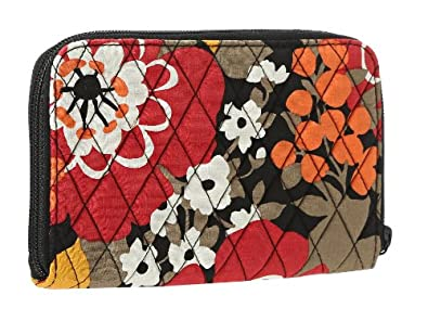 Vera Bradley Zip-Around Wallet Bittersweet