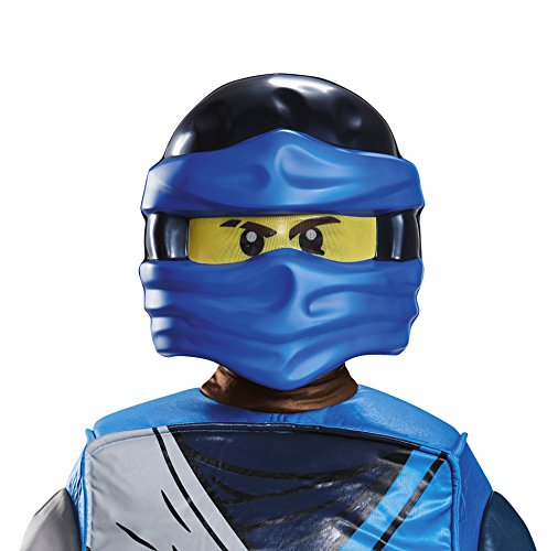 Disguise Jay Ninjago LEGO Mask, One Size Child, One Color